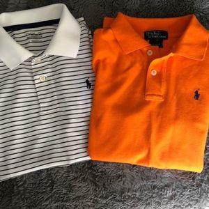 Polo golf shirts for boys size 7